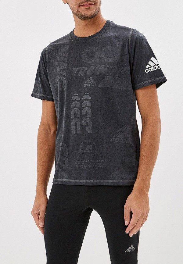 купить Футболка спортивная adidas adidas AD002EMFJZO6 по цене 2390 рублей
