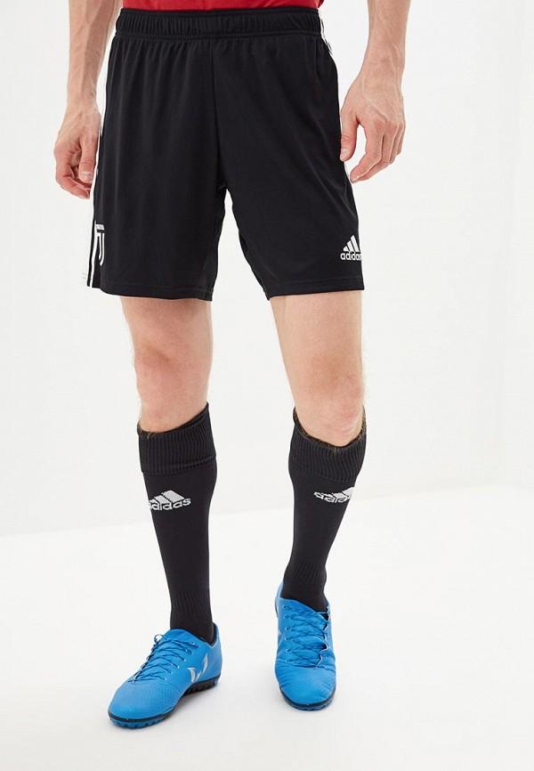Купить Шорты спортивные adidas черного цвета