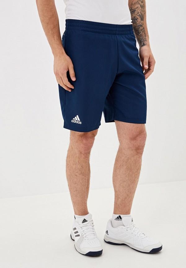 мужские спортивные спортивные шорты adidas, синие