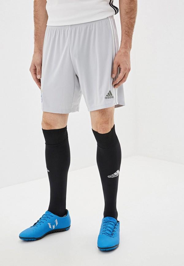 Фото - Шорты спортивные adidas серого цвета