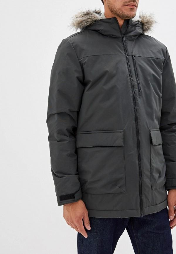 Фото - Куртку утепленная adidas цвета хаки