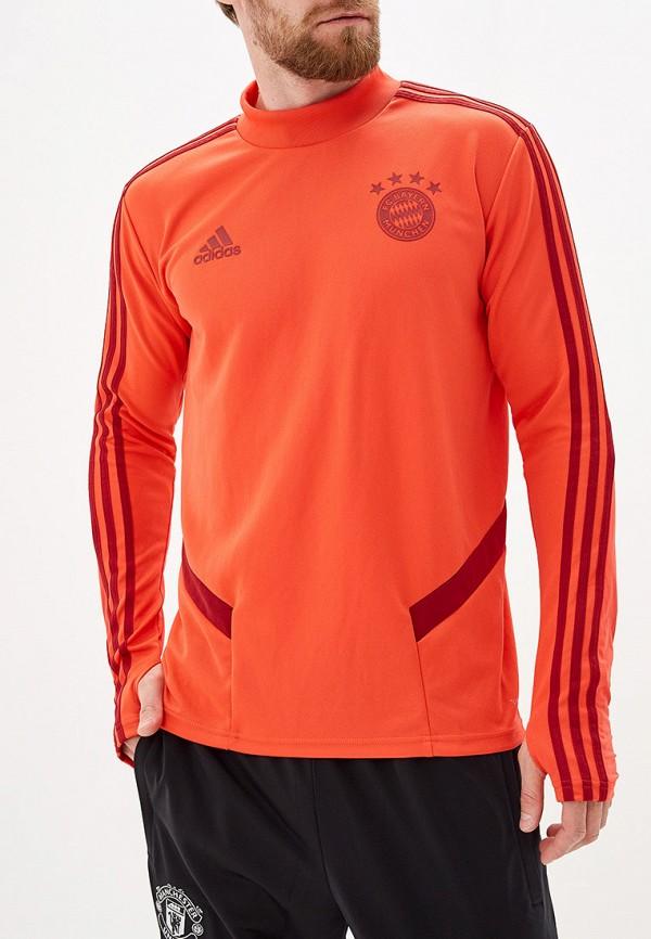 мужской свитшот adidas, оранжевый