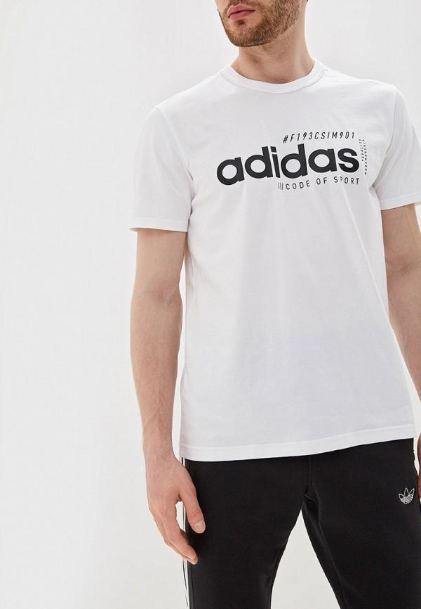 Футболка спортивная adidas adidas AD002EMFKRY5 цена