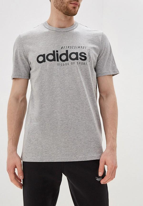 Футболка спортивная adidas adidas AD002EMFKRY6