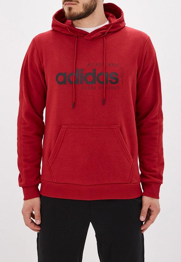Купить Худи adidas красного цвета