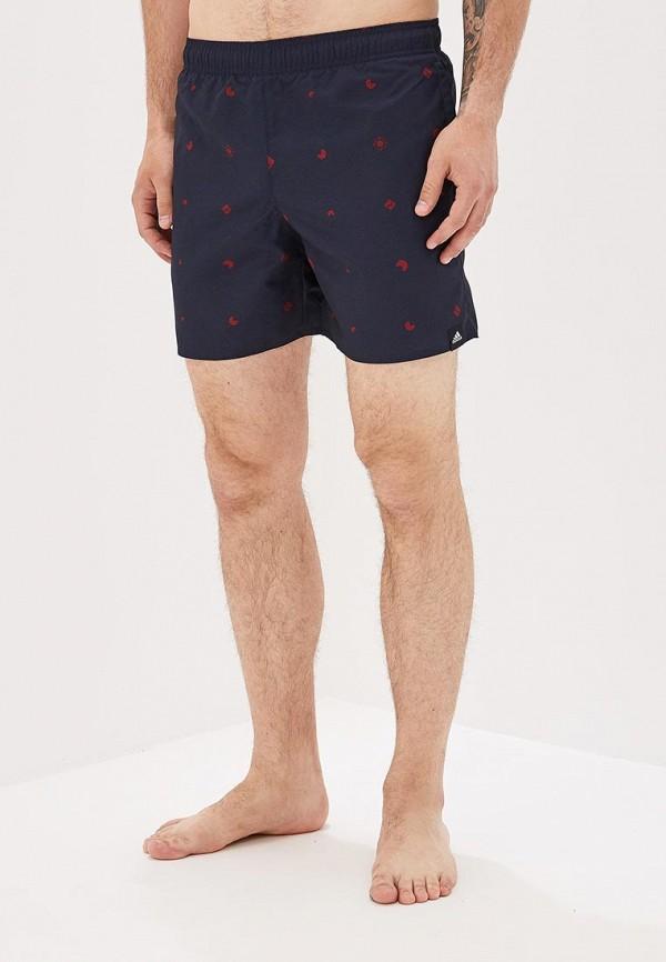 Купить Шорты для плавания adidas синего цвета