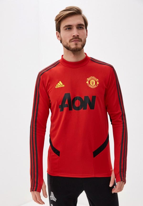 мужской свитшот adidas, красный