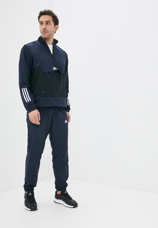 мужской спортивный костюм adidas, синий