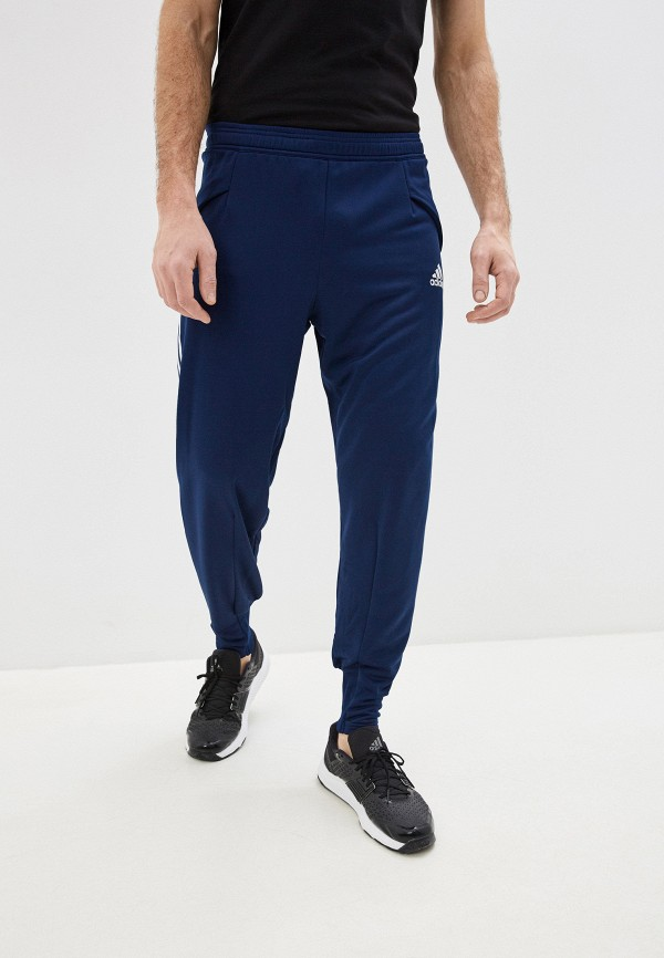 мужские брюки adidas, синие