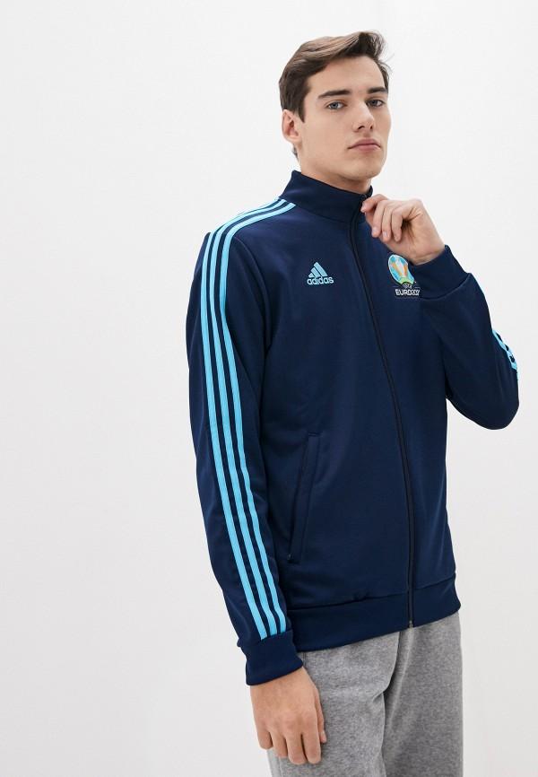 мужская олимпийка adidas, синяя