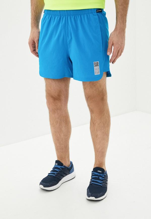 мужские спортивные шорты adidas, голубые