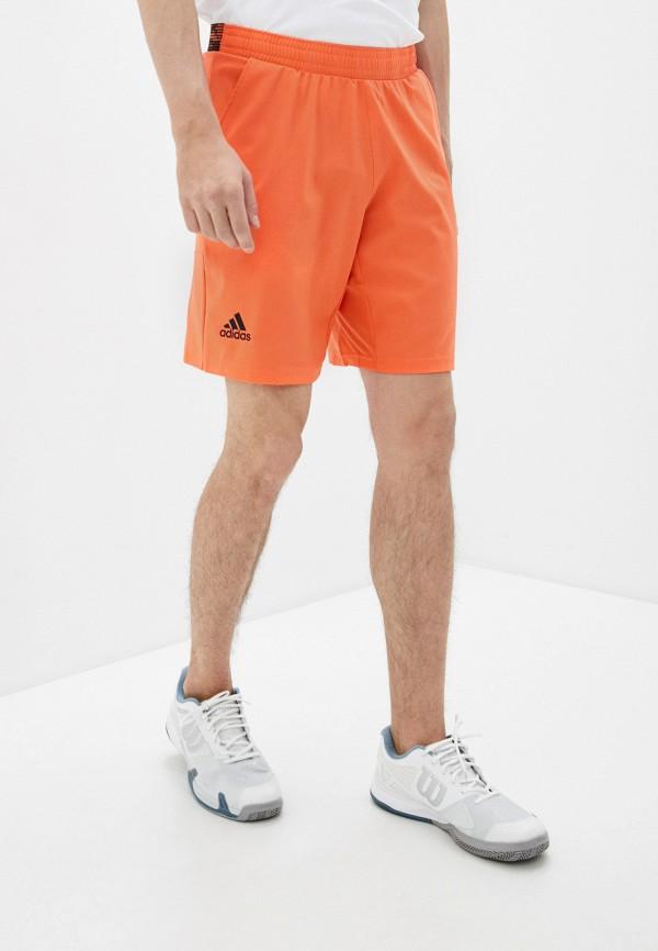 мужские спортивные шорты adidas, оранжевые