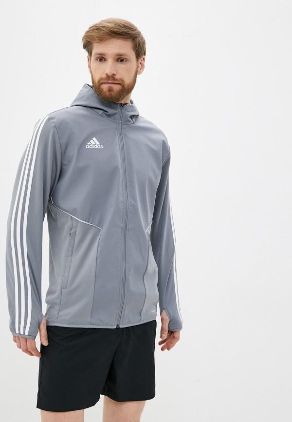 мужская куртка adidas, серая