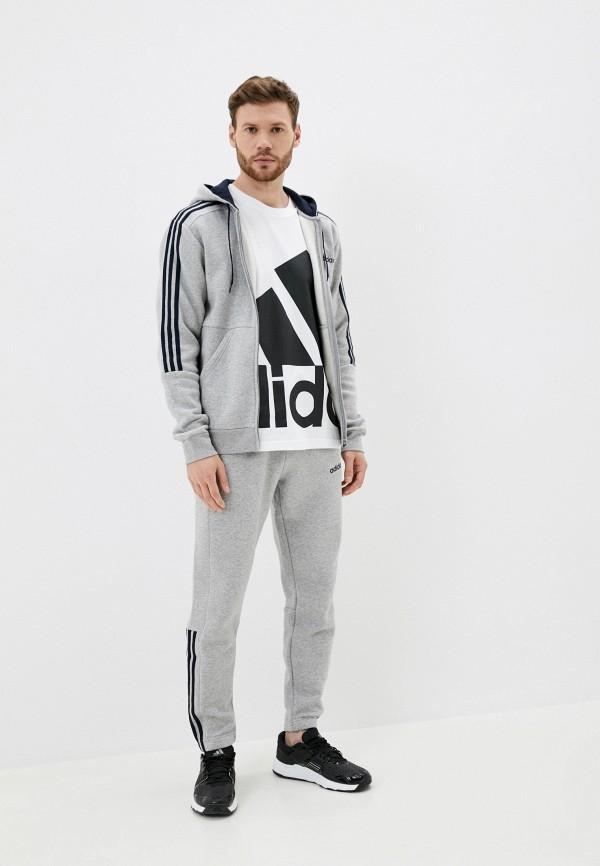 мужской спортивный костюм adidas, серый