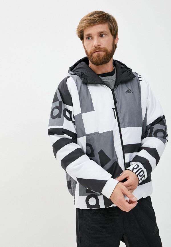 мужская куртка adidas, разноцветная