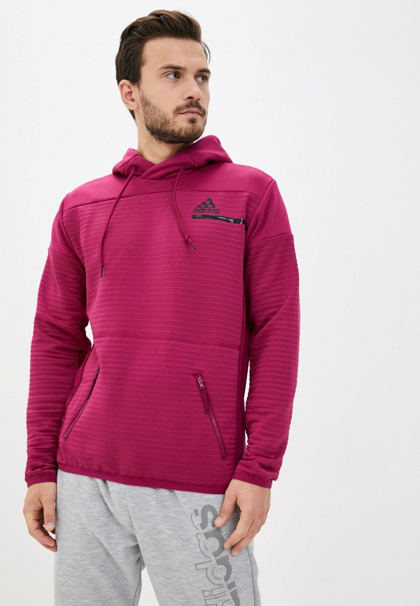мужские худи adidas, розовые