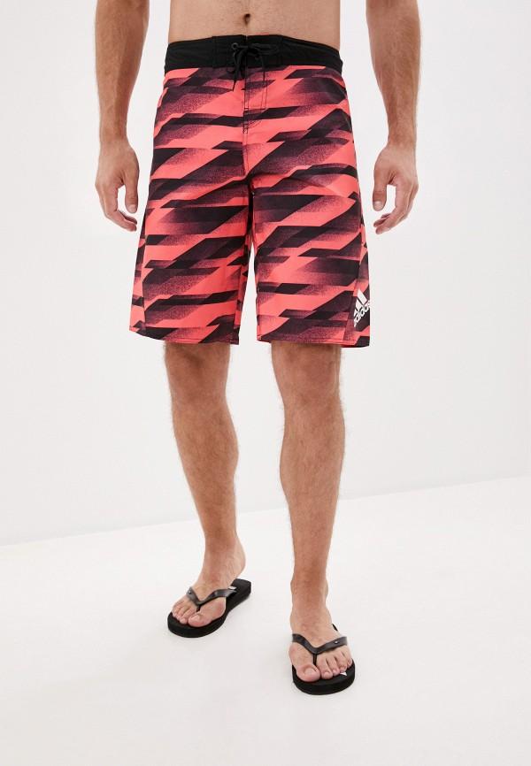 мужские спортивные шорты adidas, розовые