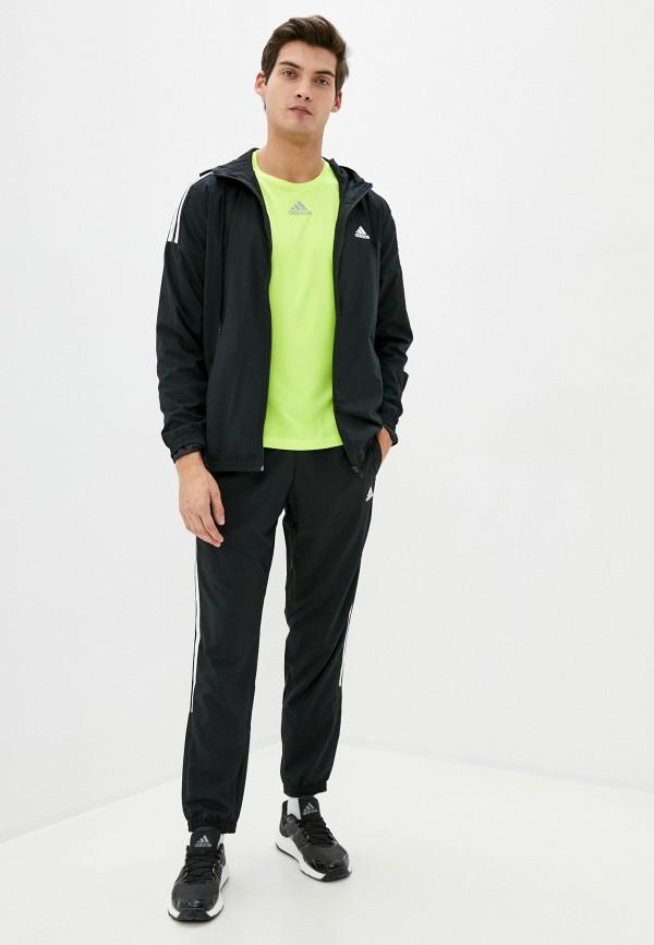 мужской спортивный костюм adidas, черный