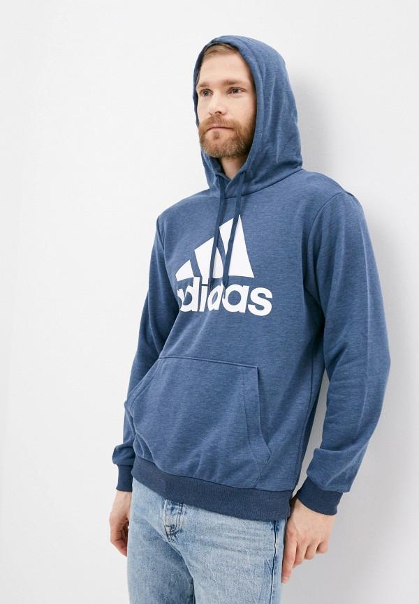 мужские худи adidas, синие