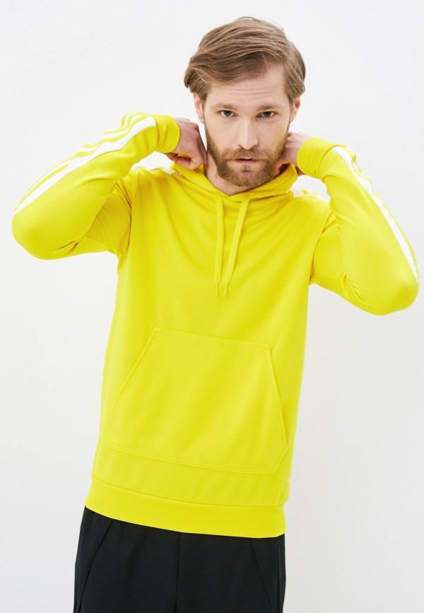 мужские худи adidas, желтые