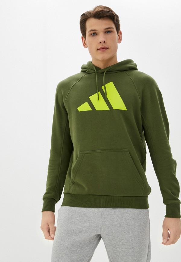 мужские худи adidas, хаки