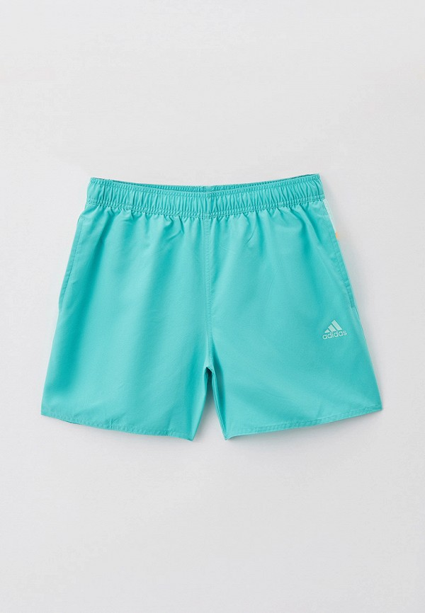 мужские спортивные шорты adidas, бирюзовые