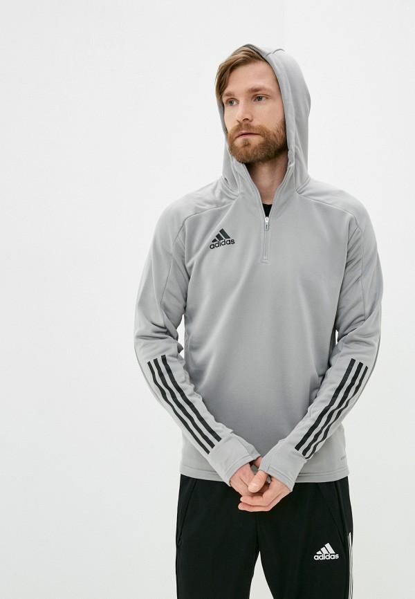 мужская спортивные куртка adidas, серая