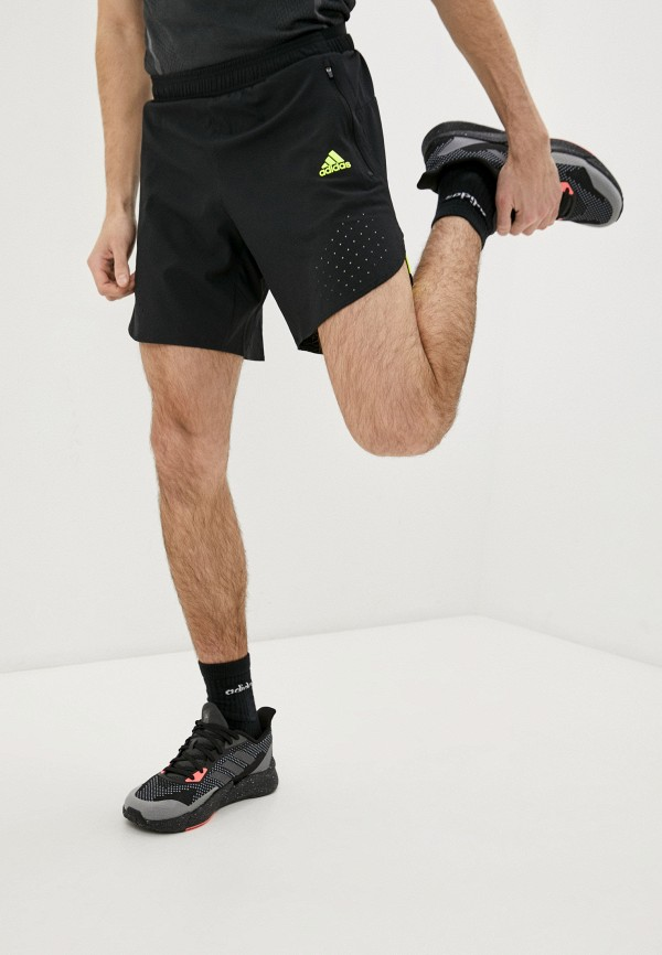 мужские спортивные шорты adidas, черные