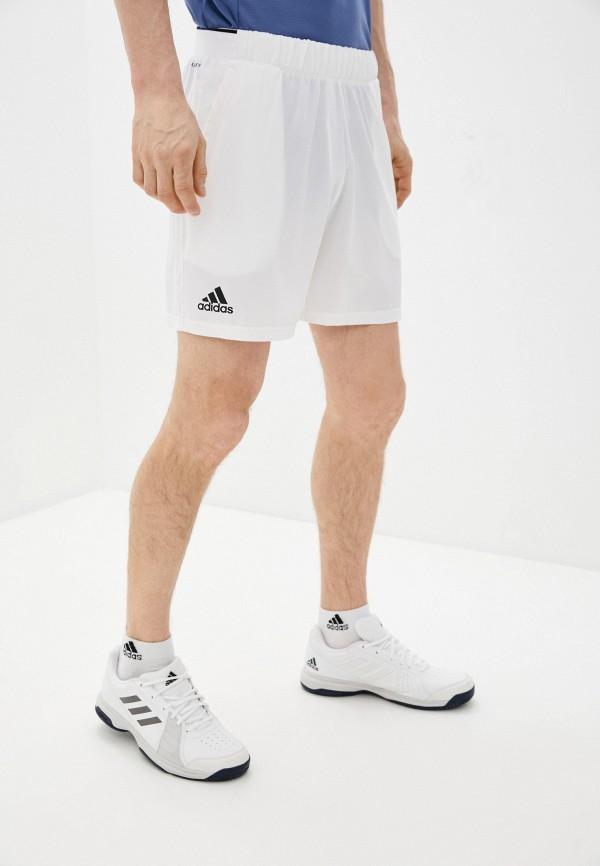 мужские спортивные шорты adidas, белые