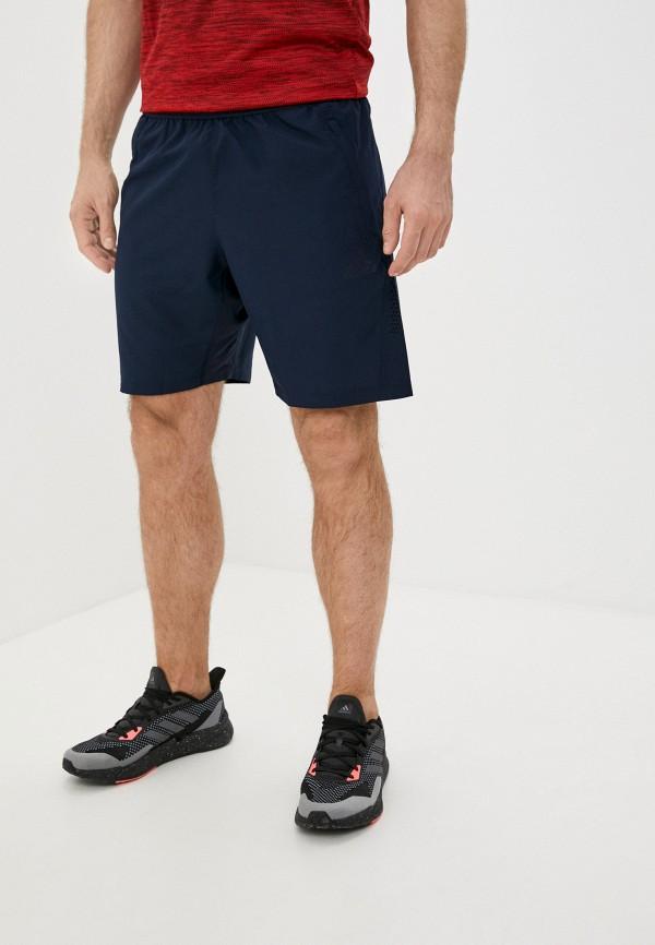 мужские спортивные шорты adidas, синие