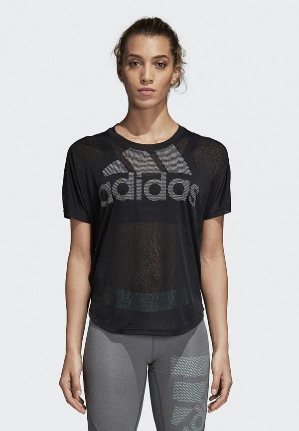 Футболка спортивная adidas adidas AD002EWCDHI4 спортивная футболка clover adidas adidas s14557 s24755