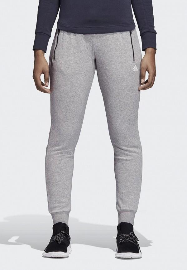 Брюки спортивные adidas adidas AD002EWCDHJ5 plus dot mesh yoke flounce embellished bodysuit