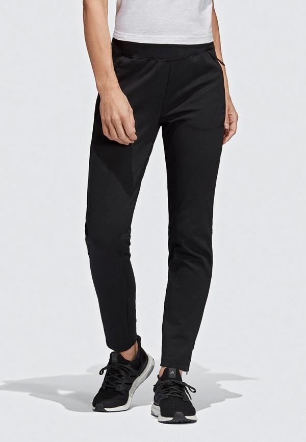 Купить Брюки спортивные adidas, adidas AD002EWEEIM3, черный, Весна-лето 2019