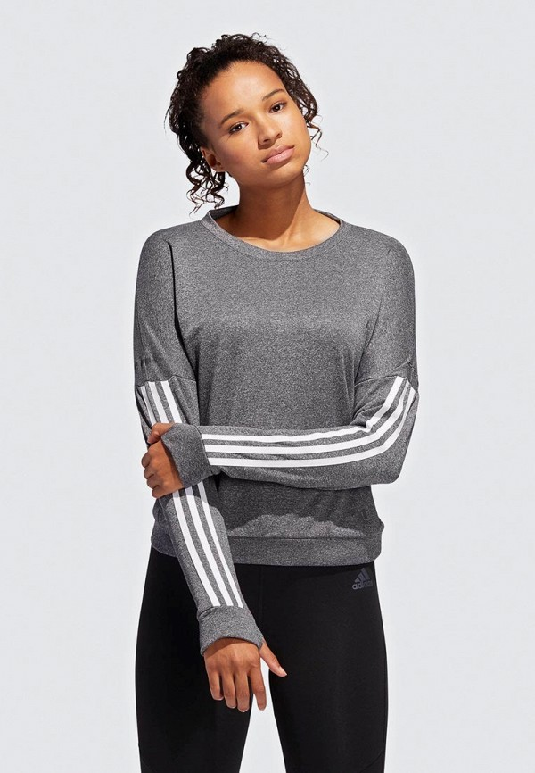 цена Лонгслив спортивный adidas adidas AD002EWEEIQ3 в интернет-магазинах