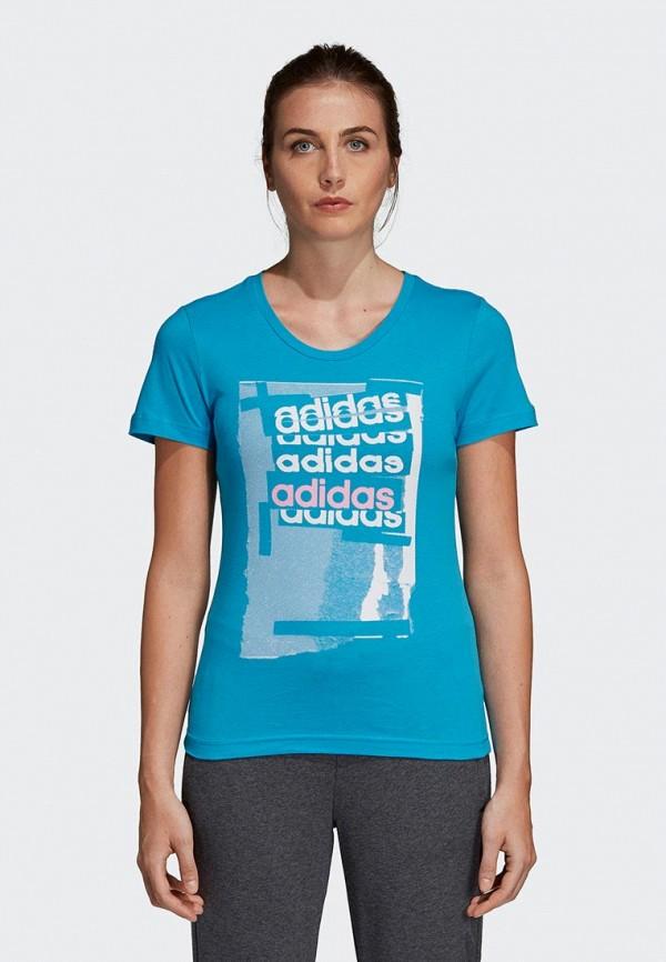 Футболка adidas adidas AD002EWEGRP6 adidas футболка