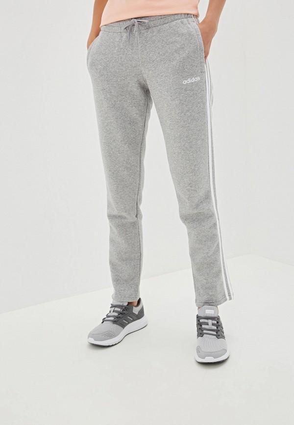 Купить Брюки спортивные adidas серого цвета
