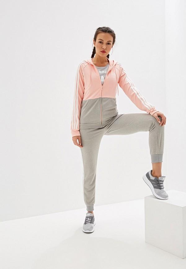 Костюм спортивный adidas adidas AD002EWFKAB9 спортивный костюм для девочки adidas i mm tight set цвет розовый темно серый dv1252 размер 86