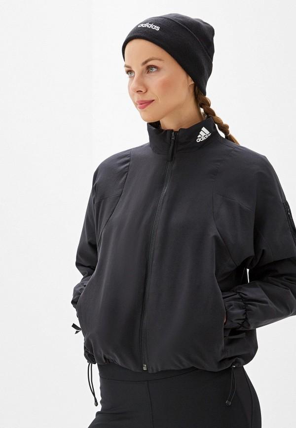 Фото - Куртку adidas черного цвета