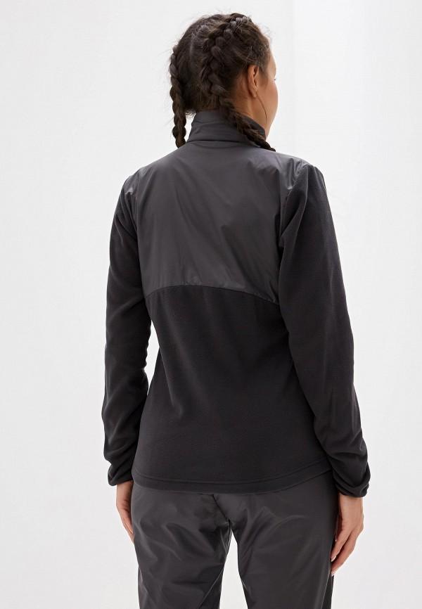 Фото 3 - Олимпийка adidas серого цвета