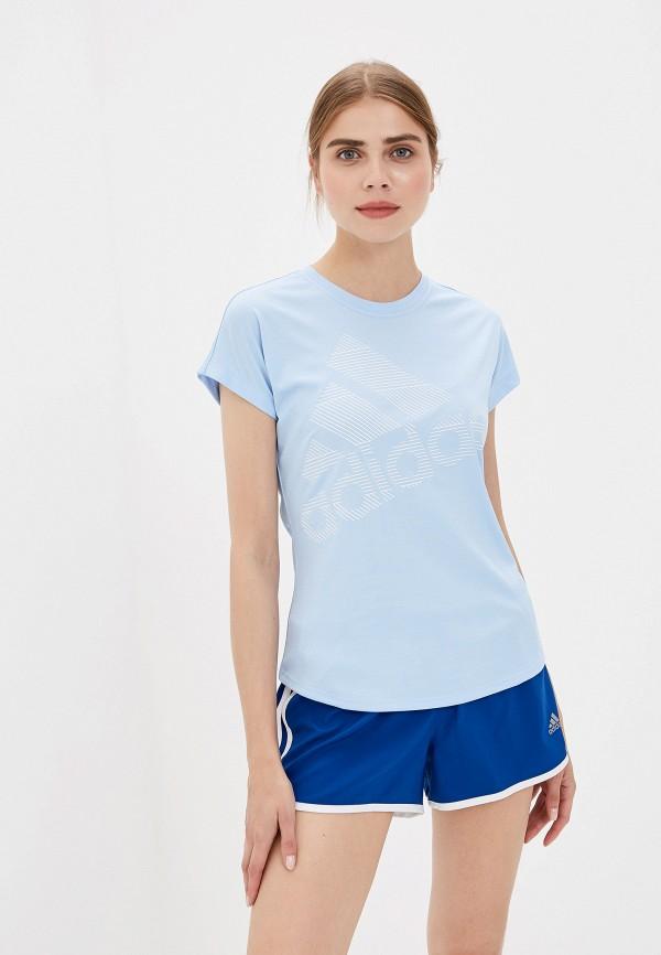 Футболка adidas adidas AD002EWFKAT5 футболка женская adidas trefoil tee цвет голубой cv9891 размер 34 42