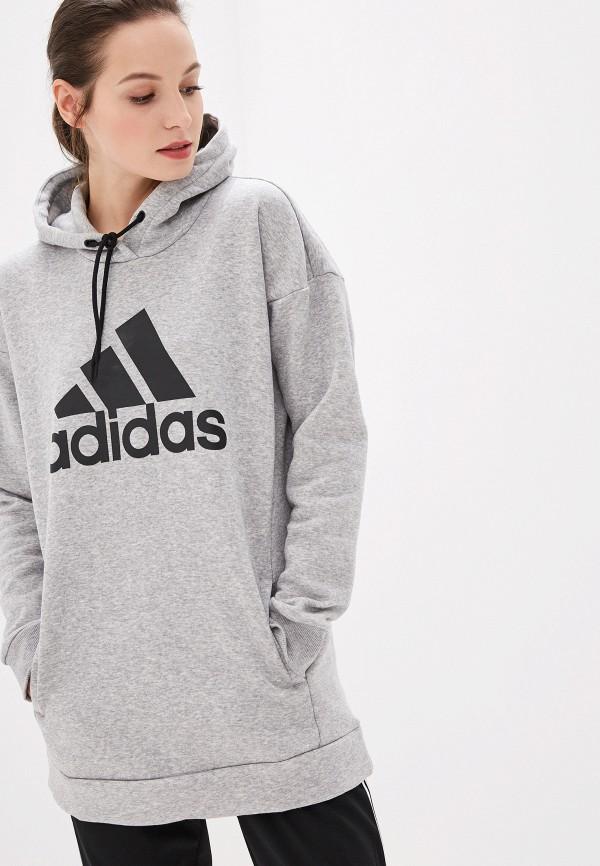 Худи adidas adidas AD002EWFKAW5 худи мужское adidas ctc ho fleece цвет серый bp9653 размер 46
