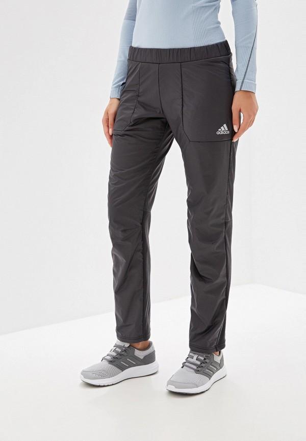 Фото - Брюки утепленные adidas серого цвета