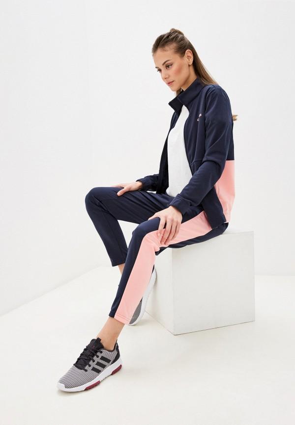 женский спортивный костюм adidas, синий