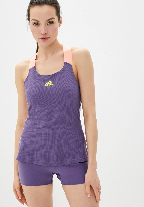 женский спортивный костюм adidas, фиолетовый