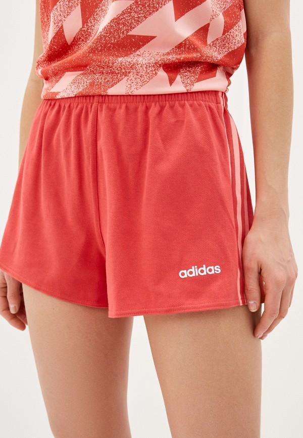 женские шорты adidas, розовые