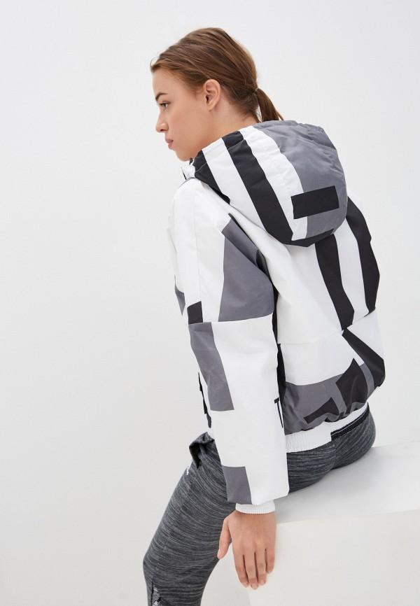 женская спортивные куртка adidas, серая
