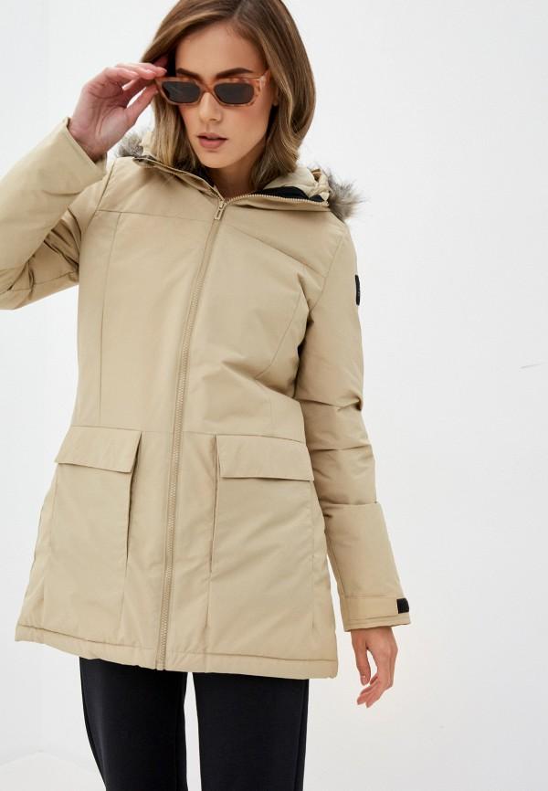 женская спортивные куртка adidas, бежевая