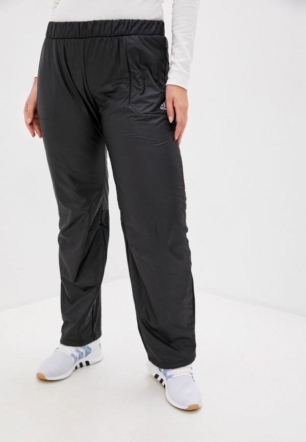 женские брюки adidas, черные