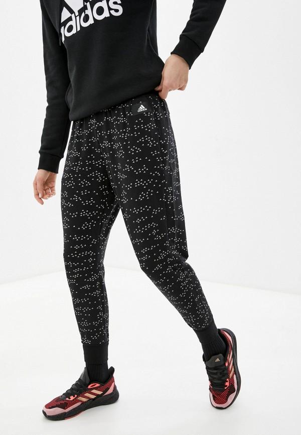 женские спортивные брюки adidas, черные