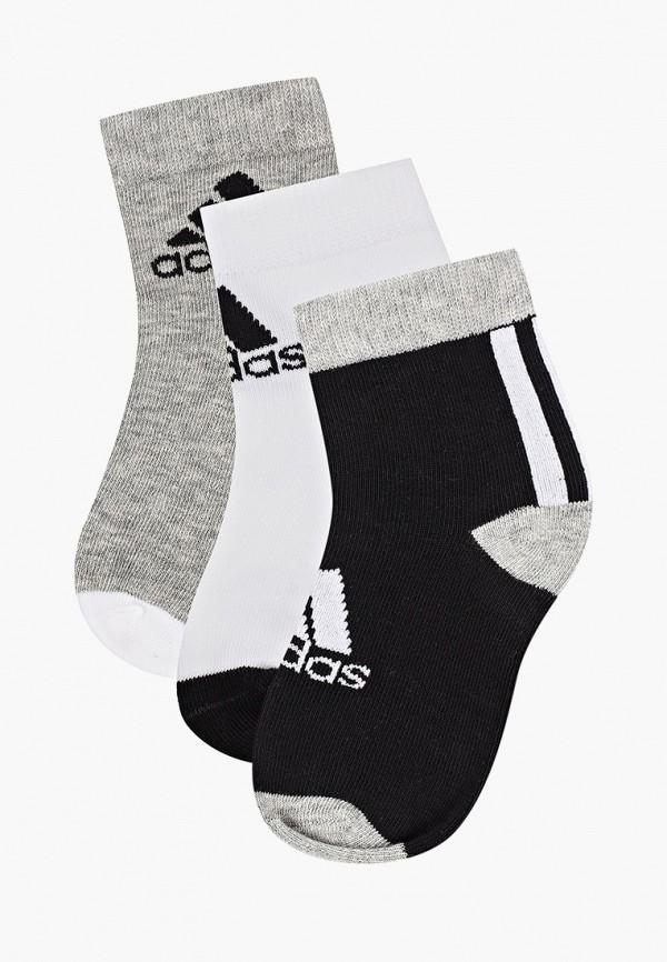 носки adidas малыши, серые